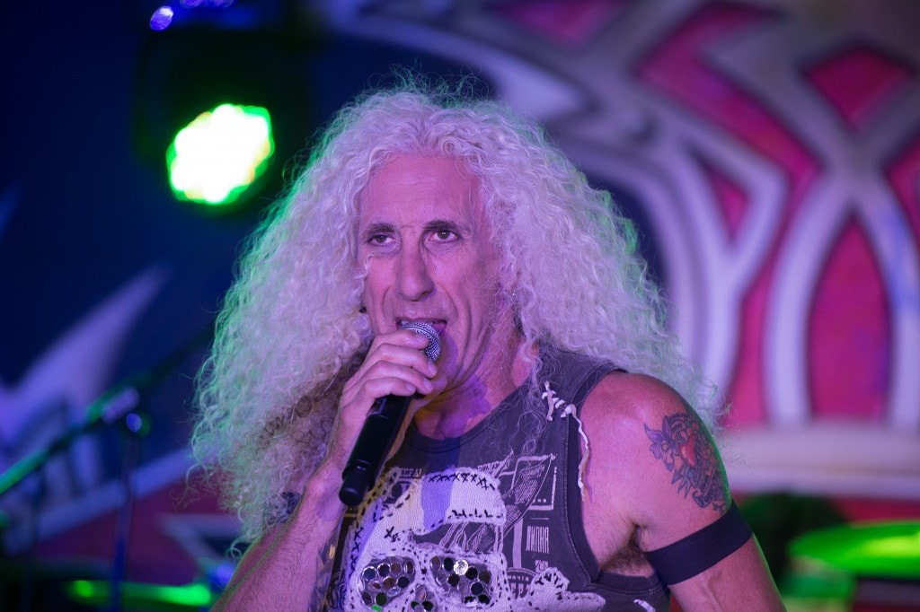 BRIARCLIFF MANOR, NY - SEPTEMBER 15: Dee Snider performs at The Eric Trump 8th Annual Golf Tournament  at Trump National Golf Club Westchester on September 15, 2014 in Briarcliff Manor, New York.  (Photo by Dave Kotinsky/Getty Images)