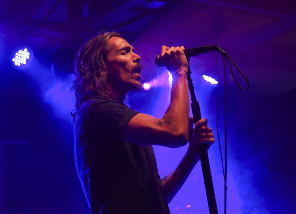 AUSTIN, TX - MARCH 19: Island recording artist Brandon Boyd of Incubus performs at Island Records Presents Island Life @ SXSW at the Belmont Lounge, Featuring Incubus, Tove Lo and More! Hosted By David Massey (CEO/President Island Records) on March 19, 2015 in Austin, Texas.