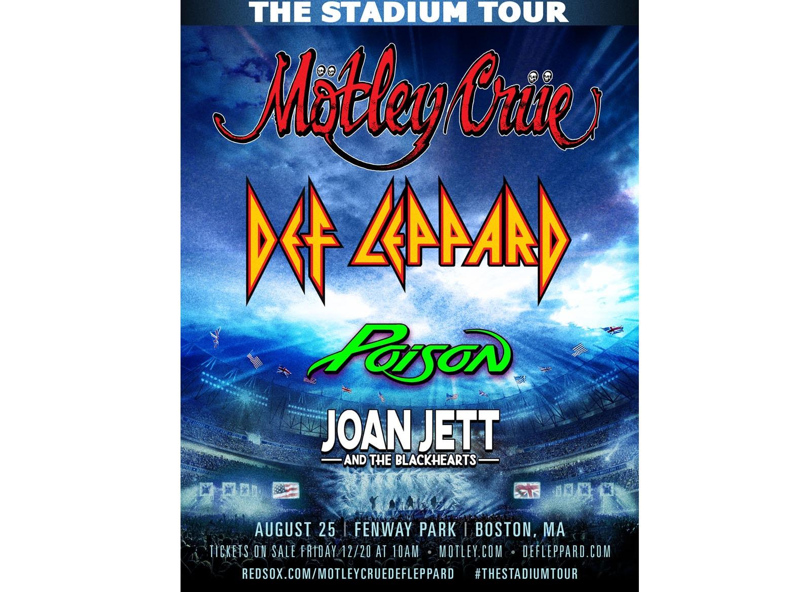 Events In Massachusetts August 25 2020.Motley Crue Def Leppard Rock 92 9 Rocks