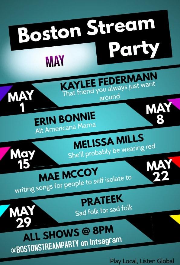 Boston Stream Party May