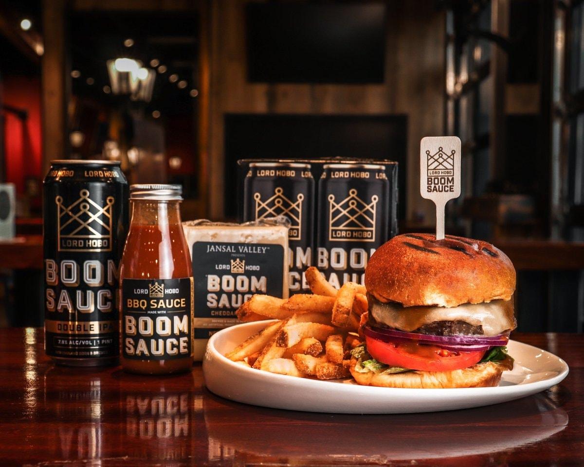 Boom Sauce & Burgers